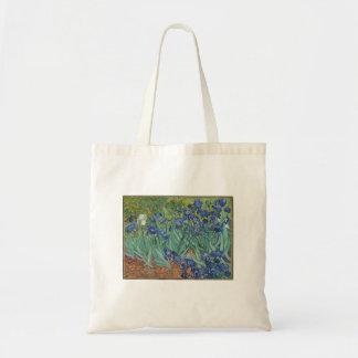 Vincent van Gogh - Iris, die Kunst-Taschen-Tasche Tragetasche
