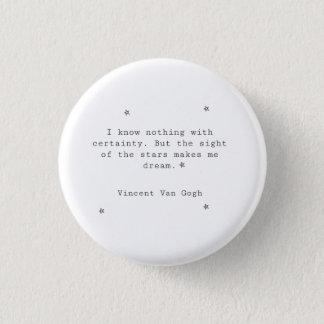 Vincent van Gogh-Knopf Runder Button 2,5 Cm