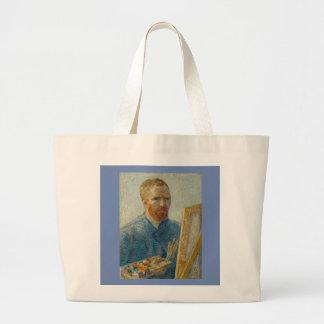 Vincent van Gogh - Künstler-Selbstporträt-Tasche Jumbo Stoffbeutel