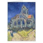 Vincent van Gogh | l'église à l'Auvers-sur-Oise Carte De Vœux