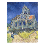 Vincent van Gogh | l'église à l'Auvers-sur-Oise Cartes Postales