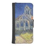 Vincent van Gogh | l'église à l'Auvers-sur-Oise Coque Avec Portefeuille Pour iPhone 5