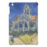 Vincent van Gogh | l'église à l'Auvers-sur-Oise Coque iPad Mini