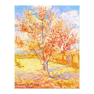 Vincent van Gogh Pfirsich-Baum in der Galerie Faltleinwand