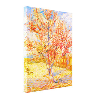 Vincent van Gogh Pfirsich-Baum in der Gespannte Galerie Drucke