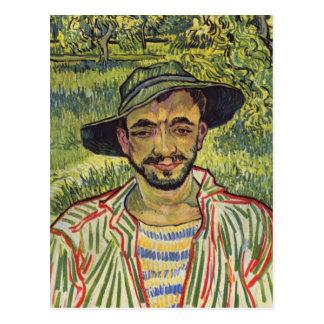 Vincent van Gogh - Porträt eines jungen Bauers Postkarte