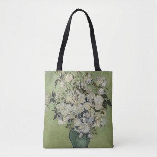 Vincent van Gogh Rosen Vintages BlumenGalleryHD Tasche