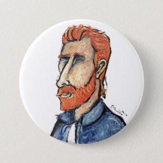 Vincent van Gogh Runder Button 7,6 Cm