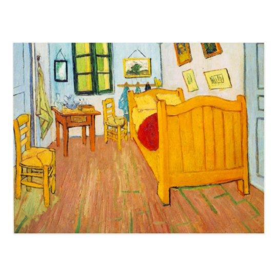 Vincent van Gogh - Schlafzimmer in Arles Postkarte | Zazzle.ch