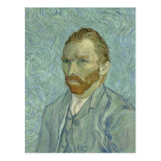 Vincent van Gogh-Selbstporträt 1889 Postkarte