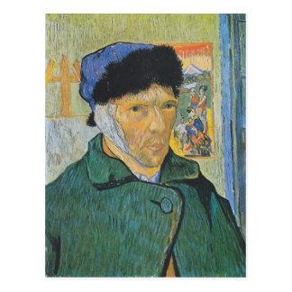 Vincent van Gogh - Selbstporträt Postkarte