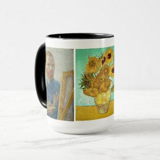 Vincent van Gogh - Selbstporträt u. Tasse