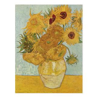 Vincent van Gogh - Sonnenblumen Postkarte