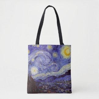 Vincent van Gogh Starry NachtVintage feine Kunst Tasche
