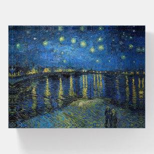 Vincent Van Gogh - Starry Night Over the Rhone Briefbeschwerer