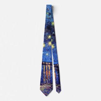 Vincent van Gogh - sternenklare Nacht über der Krawatten