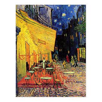 "Vincent van Goghs ""Café-Terrasse-"" Postkarte"