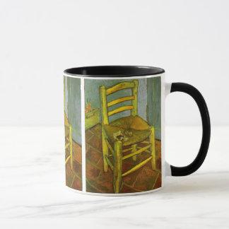 Vincents Stuhl mit seinem Rohr durch Van Gogh Tasse
