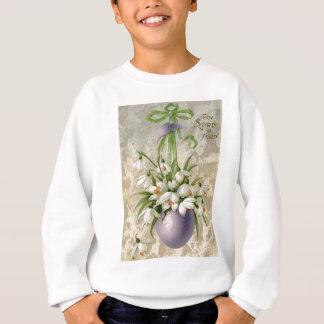 Vintag das Osterei-Kreuz Ostern Lord-Has Risen Sweatshirt