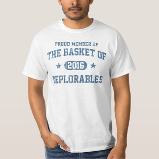 Vintag der Korb von Deplorables 2016 T-Shirt