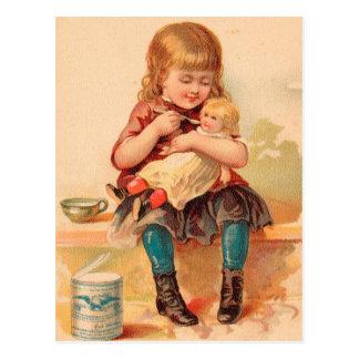 Vintag: Getränkewerbung - Postkarte