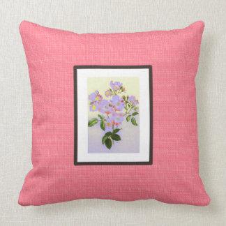 Vintag-Kunst-Lachs-Lavendel--Frühling--Lumbales ml Kissen