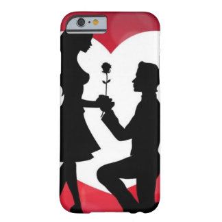 Vintag: Valentinstag - Barely There iPhone 6 Hülle