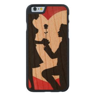Vintag: Valentinstag - Carved® iPhone 6 Hülle Kirsche