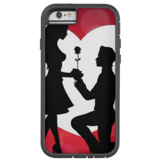 Vintag: Valentinstag - Tough Xtreme iPhone 6 Hülle