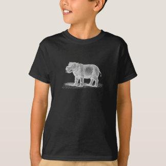 Vintage 1800s Hippopotamus-Illustration - T-Shirt