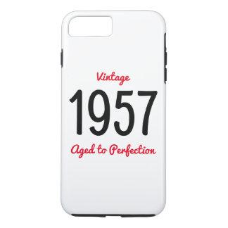 Vintage 1957 gealtert zum iPhone 7 plus hülle