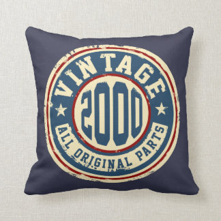 Vintage 2000 alle Vorlagen-Teile Kissen