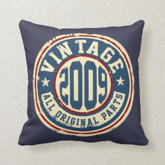 Vintage 2009 alle Vorlagen-Teile Kissen