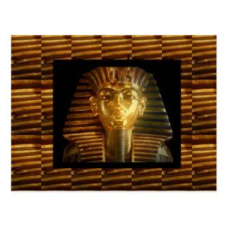 VINTAGE ägyptische Idol-Kunst: PYRAMIDEN von ALTEM Postkarte