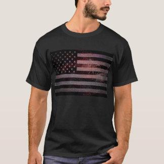 Vintage amerikanische Flagge T-Shirt