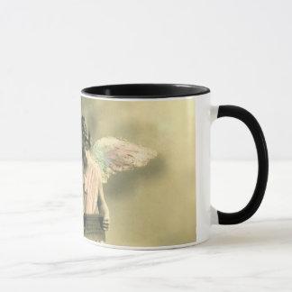 Vintage angels motive coffee mug tasse
