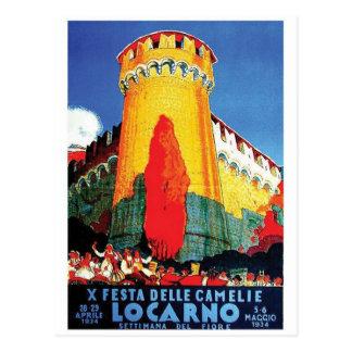 Vintage Anzeigen-Plakat-Postkarte Postkarten