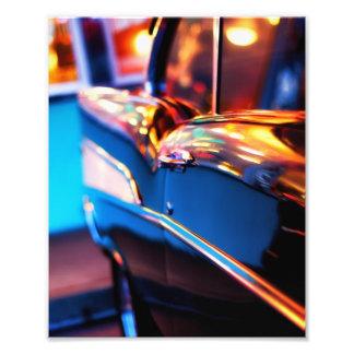 Vintage Auto-Fotografie Fotodruck