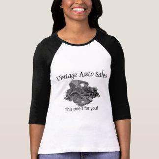 Vintage Auto-Verkäufe T-Shirt