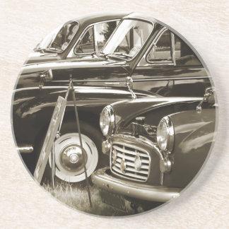Vintage Autos Getränkeuntersetzer