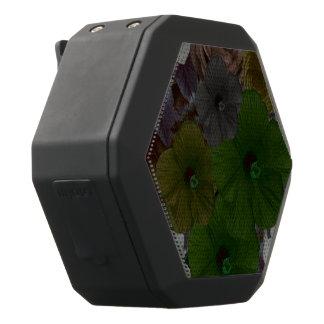 Vintage Blumencollage Schwarze Bluetooth Lautsprecher