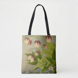 Vintage botanische Malerei Tasche