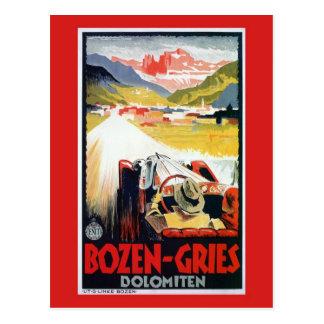 Vintage Bozen Gries italienische Postkarten