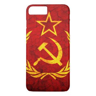 Vintage CCCP Flagge iPhone 8 Plus/7 Plus Hülle