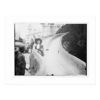 Vintage Coney-Insel, der Razzle blenden Postkarte