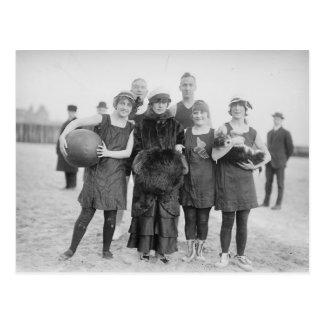 Vintage Coney-Insel Postkarte