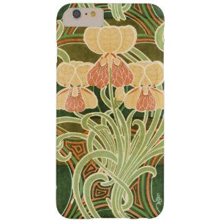 Vintage Curvy Blumenkunst Nouveau Barely There iPhone 6 Plus Hülle