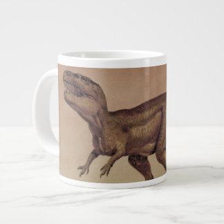 Vintage Dinosaurier, Fleisch fressendes Jumbo-Tasse