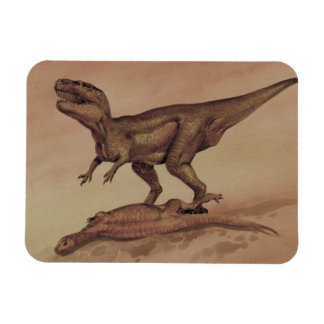 Vintage Dinosaurier, Fleisch fressendes Magnet