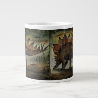 Vintage Dinosaurier, Stegosaurus, Schwanz mit Jumbo-Tasse